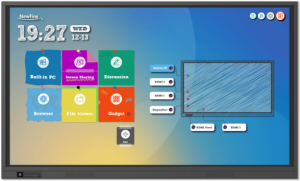 Enabling Newline Display Touch Functionality